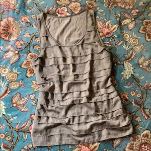 A very pretty tiered sleeveless top!